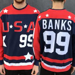 FULL PRINT USA DUCKS CREW