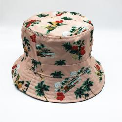 DUSTY PINK REVERSIBLE BUCKET HAT