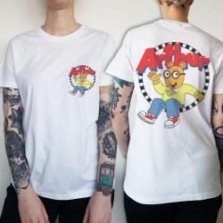 WOMENS FRONT AND BACK ARTHUR TEE