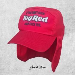 CHEW RED LEGIONNAIRES HAT