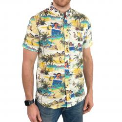 ESKYBRUH HAWAIIAN BUTTON UP PARTY SHIRT
