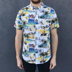 ESKYBRUH HAWAIIAN BUTTON UP SHIRT