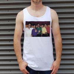 THE NARCOS WHITE SINGLET
