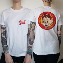 WOMENS AVERAGE JOES FRONT AND BACK TEE