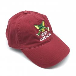 RED SESH GREMLIN DAD HAT