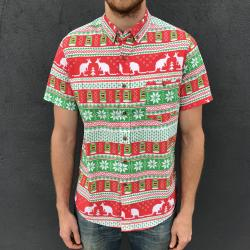 XMAS BUTTON UP PARTY SHIRT