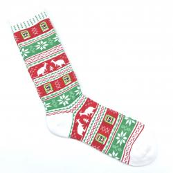 ALL OVER PRINTED XMAS SOCKS