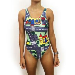 PLAY MAT ONE PIECE SWIMSUIT