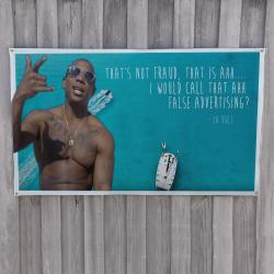 LIVIN IT UP WALL HANGING 1200 X 645MM