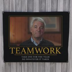 TEAMWORK WALL HANGING 1000 X 770MM