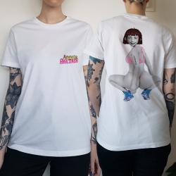 WOMENS ANACONDA WHITE TEE