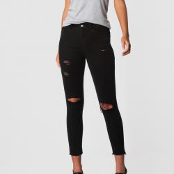 REBEL BLACK JEANS