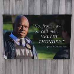 VELVET THUNDER WALL HANGING 1200 X 800MM
