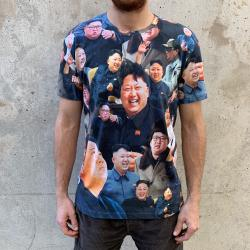 SUPREME LEADER ALL OVER PRINT T-SHIRT