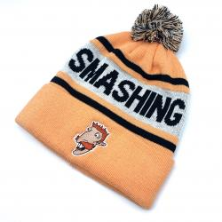 SMASHING BEANIE WITH EMBROIDERY PATCH