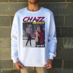 CHAZZ VINTAGE WHITE CREW