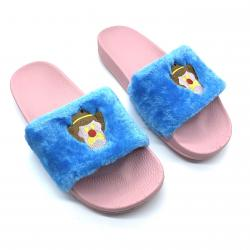 BLUE FUR ICE CREAM SLIDES