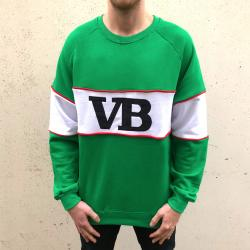 VERY BEST GREEN CREW WITH EMBROIDERY LOGO