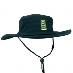 BOTTLE GREEN 8BIT WIDE BRIM HAT