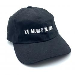 YA MUMS YA DAD BLACK DAD HAT