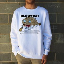 BLOWFISH WHITE CREW