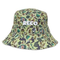 SMASHED CAMO BUCKET HAT