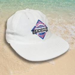 RECO'S BEACH CLUB RESORT WHITE CORD HAT