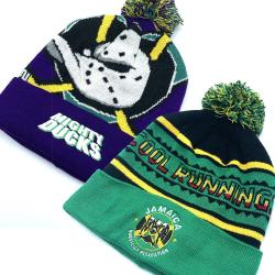 BOBSLED/DUCKS BEANIE 2-PACK