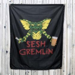 SESH GREMLIN WALL HANGING 1000 X 1200MM