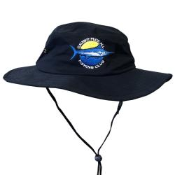 FISHING CLUB NAVY WIDE BRIM HAT