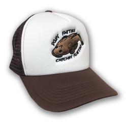 FLATTIES TRUCKER HAT BROWN/WHITE