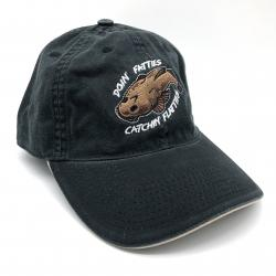 FLATTIES DAD HAT BLACK/TAN