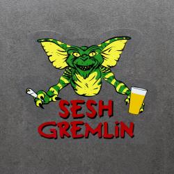 SESH GREMLIN DIE CUT STICKER