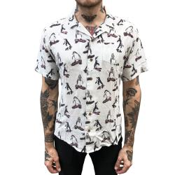 PENGUINS GONE WILD RAYON VACATION SHIRT