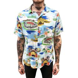 VINTAGE MELBOURNE RAYON VACATION SHIRT