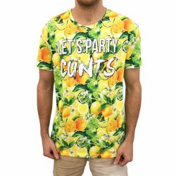 FULL PRINT LEMON PARTY TEE