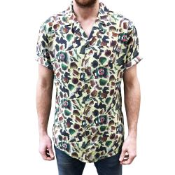 SMASHED CAMO VACATION SHIRT