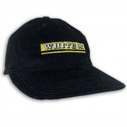WHITE OX VINTAGE CORD HAT IN BLACK
