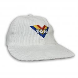 VINTAGE TAB WHITE CORD HAT