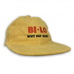 WHY PAY MORE YELLOW CORD HAT