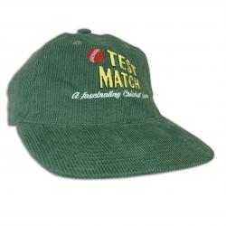 GREEN TEST MATCH VINTAGE CORD HAT