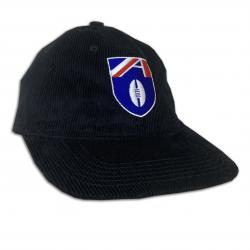 VINTAGE FOOTY BLACK CORD HAT