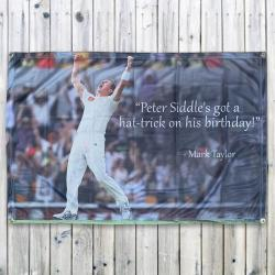 BIRTHDAY HAT-TRICK WALL HANGING 1200 X 800MM