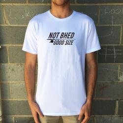 NOT BHED WHITE TEE