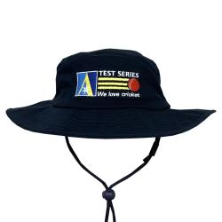 WE LOVE CRICKET NAVY WIDE BRIM HAT