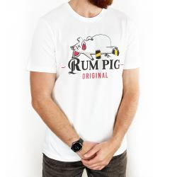RUM PIG WHITE TEE