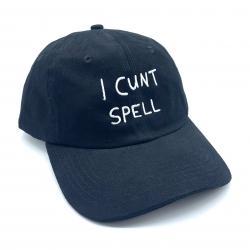 I CNT SPELL DAD HAT BLACK