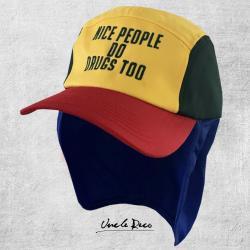 NICE PEOPLE DO DRUGS MULTI COLOUR LEGIONNAIRES HAT