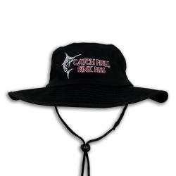 SINK PISS WIDE BRIM HAT BLACK