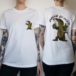 WOMENS GOANNA FRONT AND BACK TEE